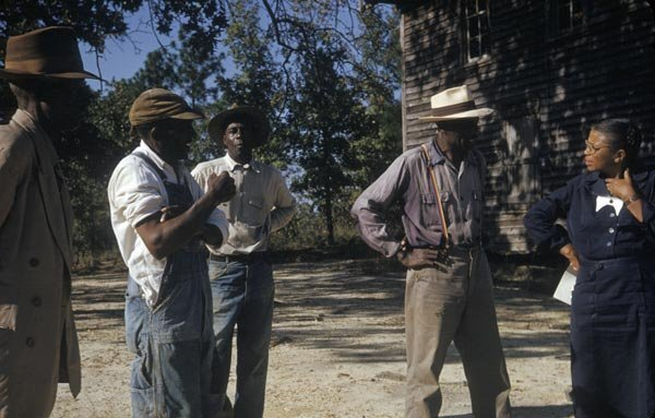 Eunice Rivers nővérben megbíztak a betegek. (Eredeti felvétel Tuskegee-ből)