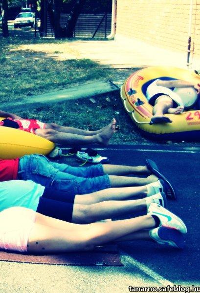 nyári szünet