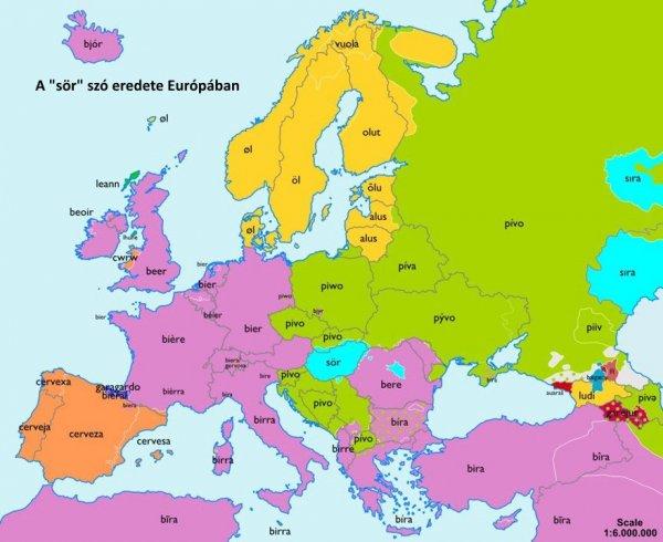 sör térkép
