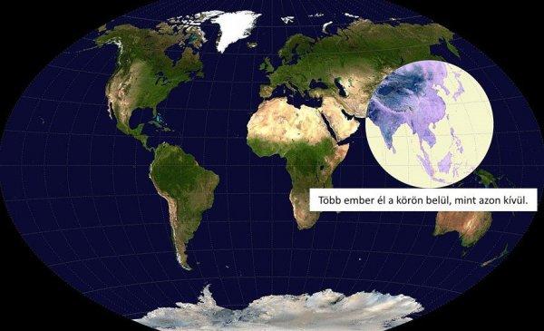 túlnépesedés térkép