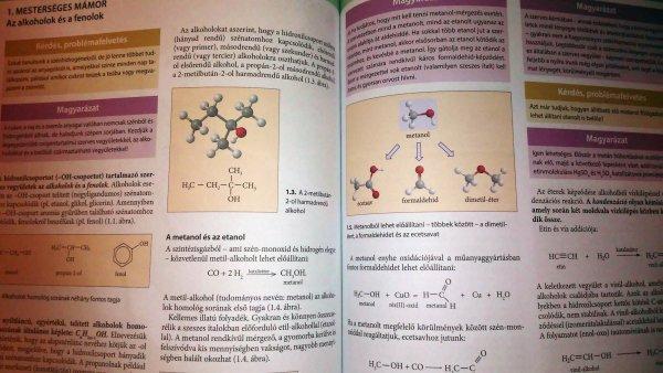 kémia kísérleti tankönyv