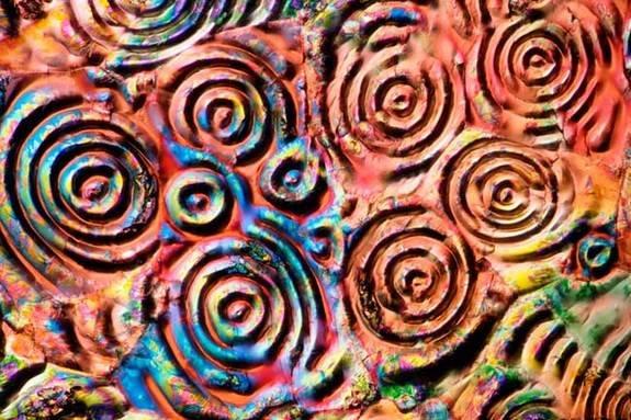aszpirin mikroszkópikus képe