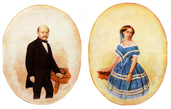 Semmelweis Ignác esküvői képe
