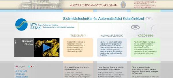első magyar domain