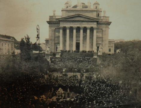 Gárdonyi temetése