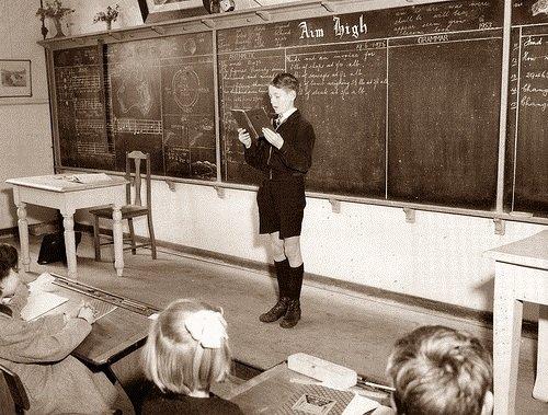 iskolai felelés
