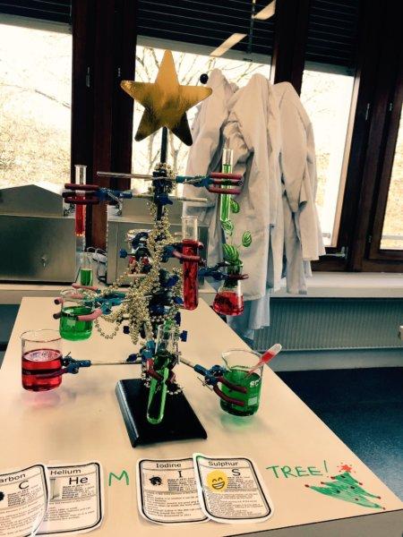 kémia karácsonyfa