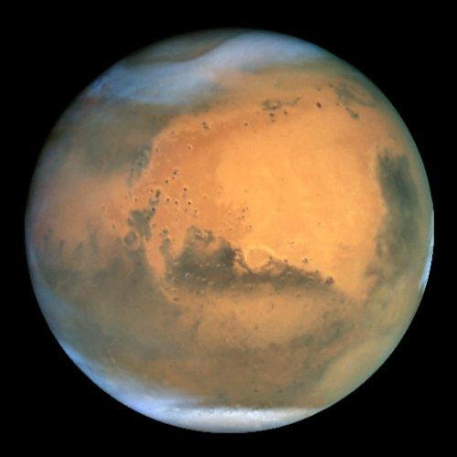 Mars bolygó víz